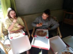 pizza eten (12)
